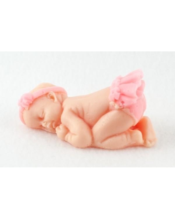 Малыш в юбочке, форма для мыла силиконовая, 1 шт.