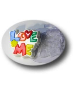 Love Me пластиковая форма для мыла (1 шт) МД 66