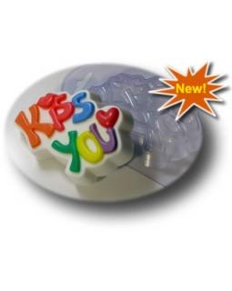 Kiss You пластиковая форма для мыла (1 шт) МД 65