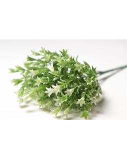 АНДЮЗ Букет зелени с цветами лилии белый 1 шт.