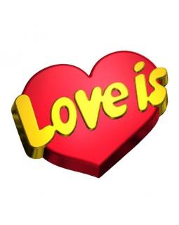 Love is ... форма пластиковая (1 шт) БП 685