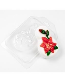 8 марта Лилия форма для мыла пластиковая, (1 шт) М7952