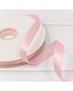 Лента Атласная Полиэстер класс А Бледно-розовый 1,5см*1м 1 шт.