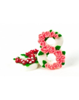 8 марта розочки, форма для мыла силиконовая (1 шт)