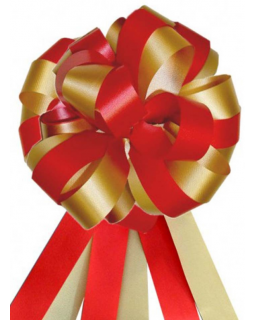 Бант-шар тройной 3 см (1 шт) MIX красных нет, цвет пишите в комментарии в заказе
