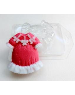 Платье для девочки, форма для мыла пластиковая (1 шт)