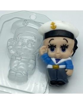 Малыш Моряк, форма для мыла пластиковая (1 шт)
