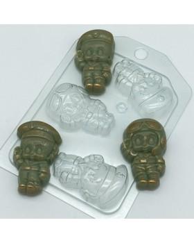 Малыши мини 1, форма для мыла пластиковая (1 шт)