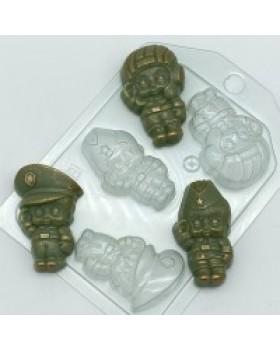 Малыши мини 2, форма для мыла пластиковая (1 шт)