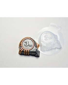 Рулетка, форма для мыла пластиковая (1 шт)