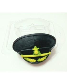 Фуражка, форма для мыла пластиковая (1 шт)