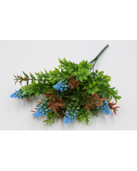 """Куст самшит с пластм. соцветием кукурузы """"Лилли"""" Цвет № 4 4678"""