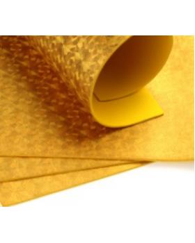 Фоамиран голограмма А4 1 шт. золото 6304 К82-16/6304