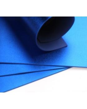 Фоамиран голограмма А4 1 шт. синий 6305 К82-16/6305