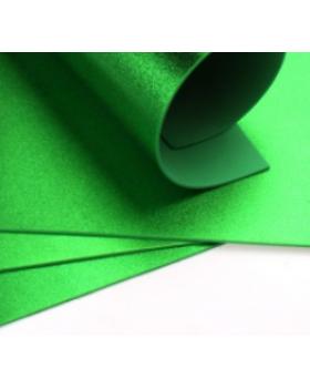 Фоамиран металлик А4 1 шт. зеленый 6207 К82-15/6207
