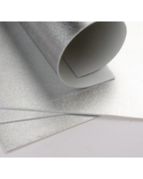 Фоамиран металлик А4 1 шт. серебро 6203 К82-15/6203