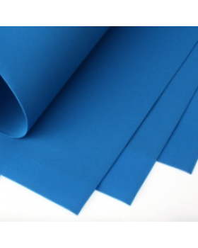 Фоамиран Eva 1 мм 50*50 см 1 шт. синий 5717 А21-5717