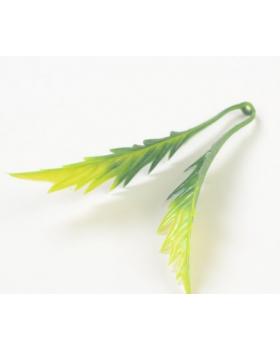 МОНТО Лист ромашки 2-ой зеленый комбинированны (1 шт)