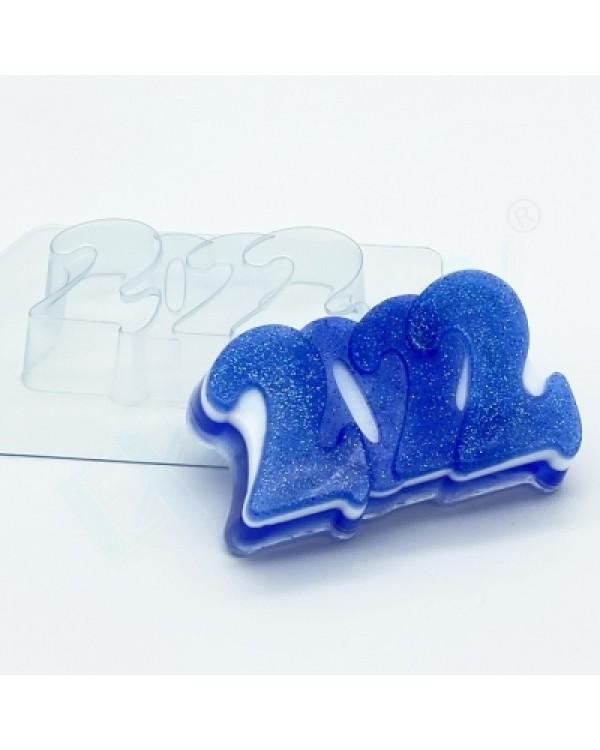 2022, форма для мыла пластиковая