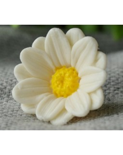 Мини-ромашка, форма для мыла силиконовая, 1 шт.